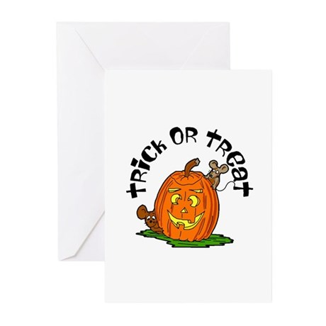 Pumpkin Mice Greeting Cards (Pk of 10)