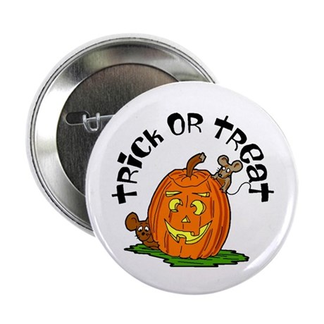 "Pumpkin Mice 2.25"" Button (100 pack)"