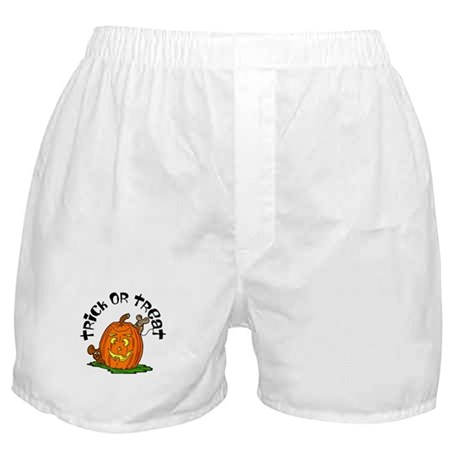Pumpkin Mice Boxer Shorts