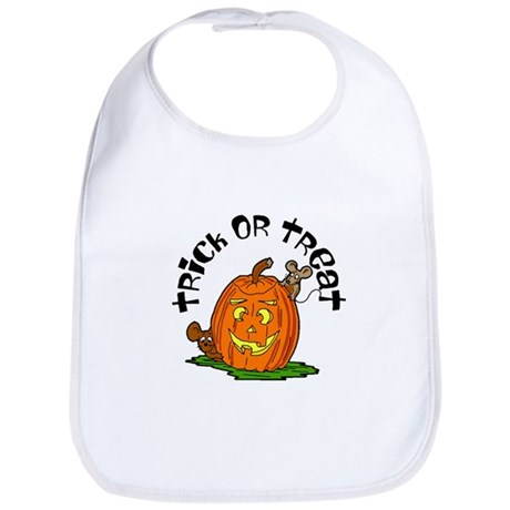 Pumpkin Mice Bib