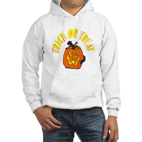 Jack o Lantern Cat Hooded Sweatshirt