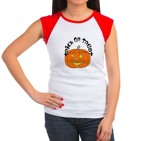 Trick or Treat Women's Cap Sleeve T-Shirt