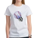 Baseball Lightbulb Tee