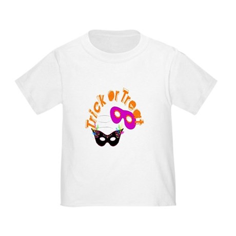 Trick or Treat Masks Toddler T-Shirt