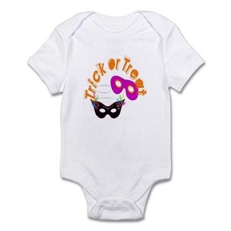 Trick or Treat Masks Infant Bodysuit