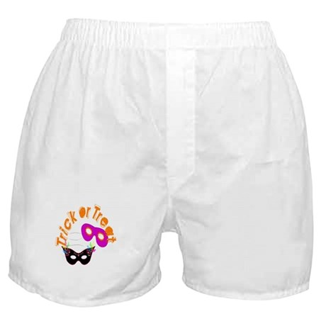 Trick or Treat Masks Boxer Shorts