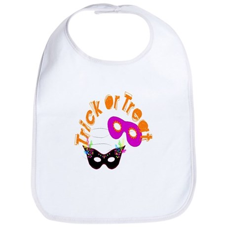 Trick or Treat Masks Bib