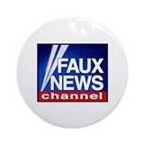 FAUX NEWS ornament