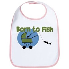 Born To Fish Bib