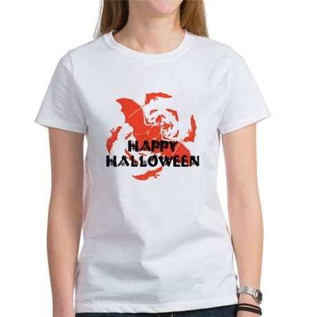Happy Halloween Bats Women's T-Shirt