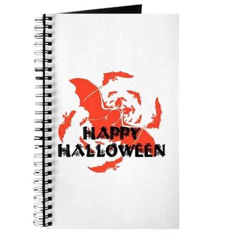 Happy Halloween Bats Journal