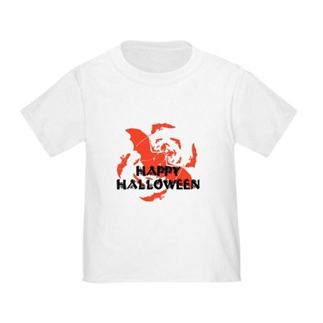 Happy Halloween Bats Toddler T-Shirt