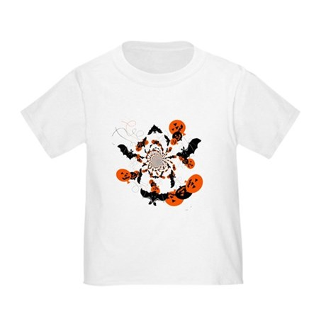 Pumpkin Bats Toddler T-Shirt
