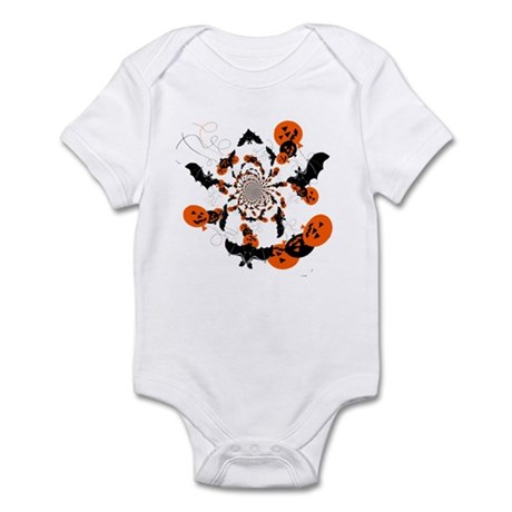 Pumpkin Bats Infant Bodysuit