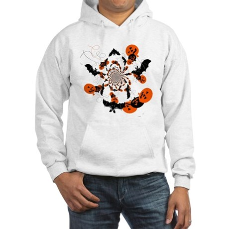 Pumpkin Bats Hooded Sweatshirt