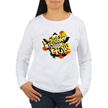 Halloween Party Women's Long Sleeve T-Shirt