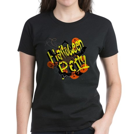 Halloween Party Women's Dark T-Shirt