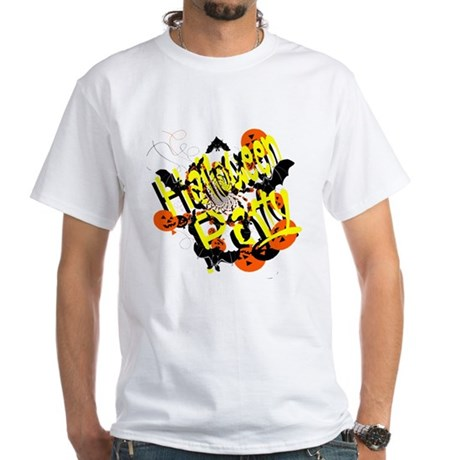 Halloween Party White T-Shirt