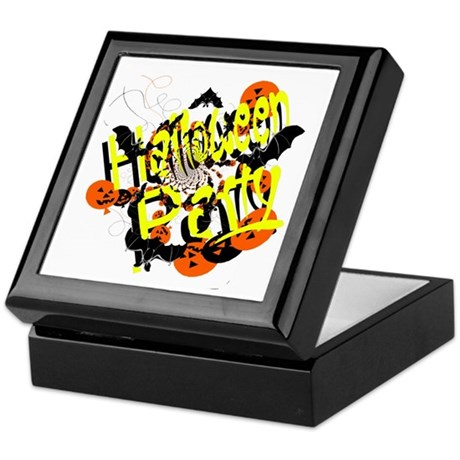 Halloween Party Keepsake Box