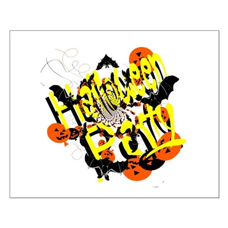 Halloween Party Small Poster