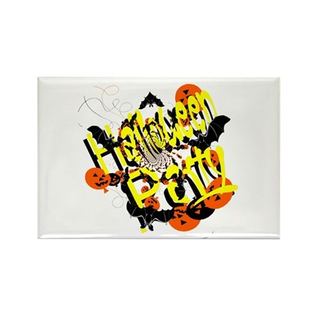 Halloween Party Rectangle Magnet (100 pack)