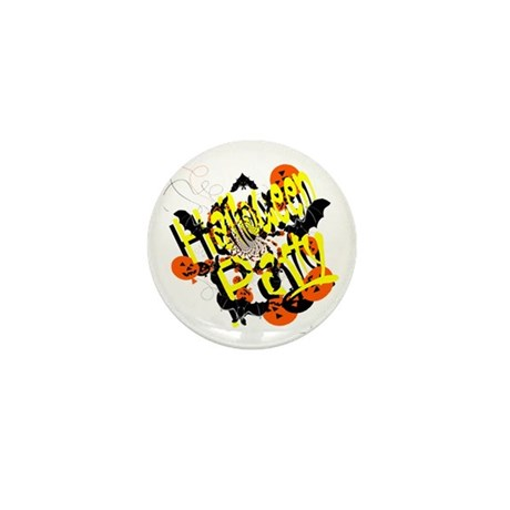 Halloween Party Mini Button (100 pack)