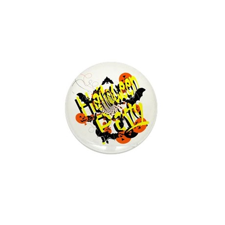 Halloween Party Mini Button