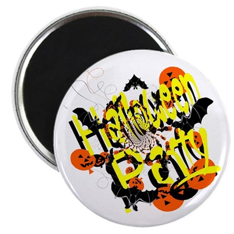 "Halloween Party 2.25"" Magnet (100 pack)"