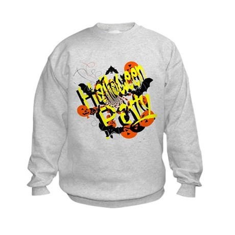 Halloween Party Kids Sweatshirt
