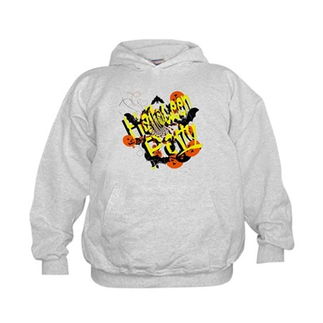 Halloween Party Kids Hoodie
