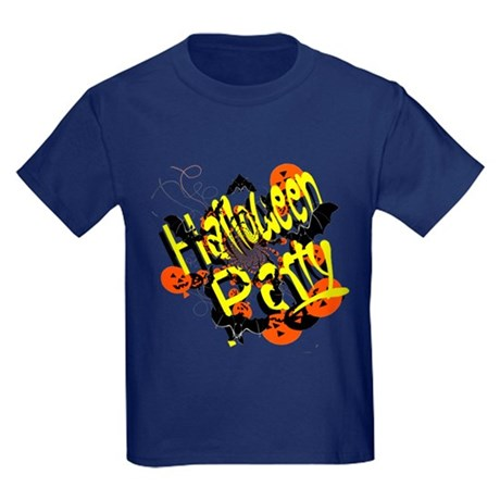 Halloween Party Kids Dark T-Shirt