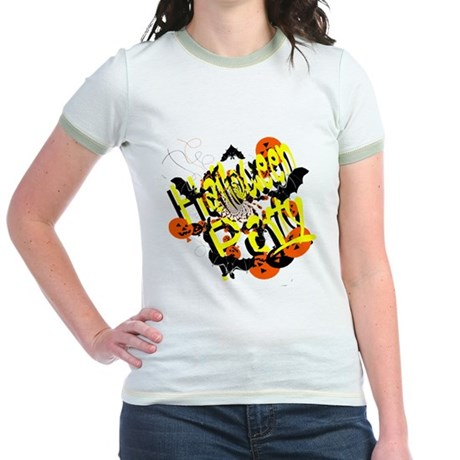 Halloween Party Jr. Ringer T-Shirt