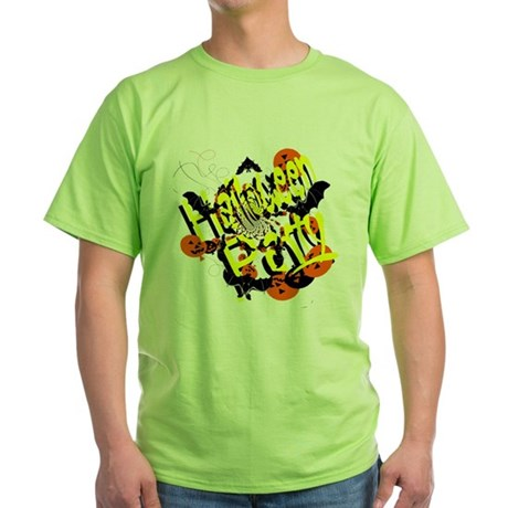 Halloween Party Green T-Shirt