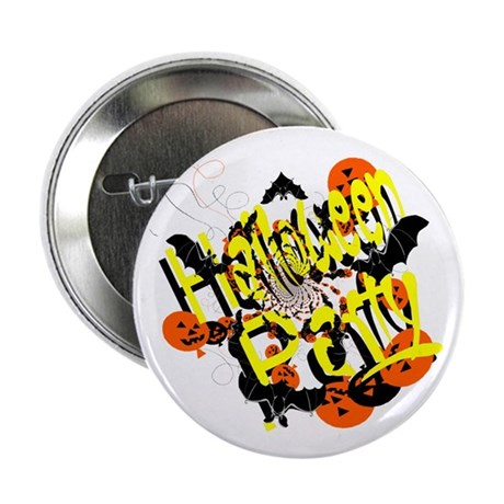 "Halloween Party 2.25"" Button (100 pack)"