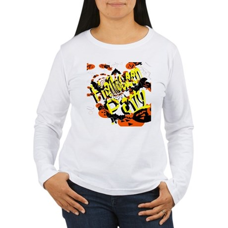 Halloween Party II Women's Long Sleeve T-Shirt