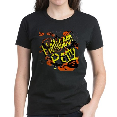Halloween Party II Women's Dark T-Shirt