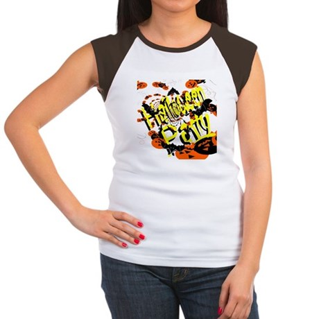 Halloween Party II Women's Cap Sleeve T-Shirt