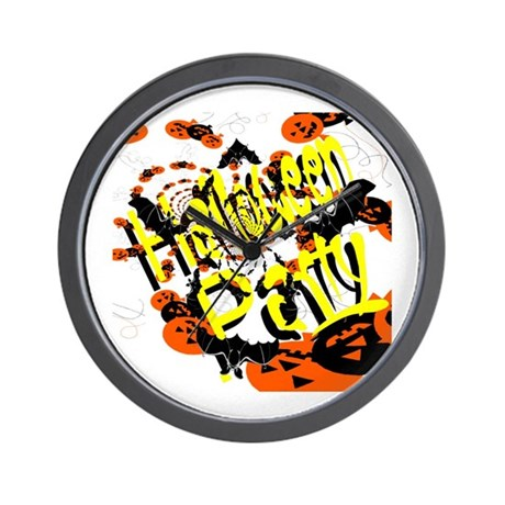 Halloween Party II Wall Clock