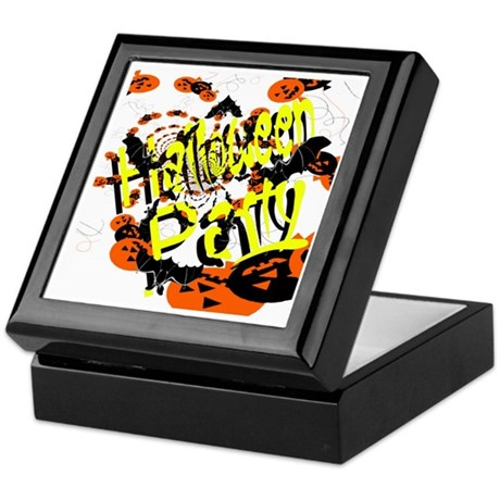 Halloween Party II Keepsake Box