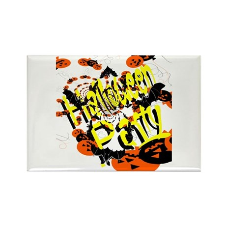 Halloween Party II Rectangle Magnet (100 pack)