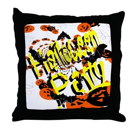 Halloween Party II Throw Pillow