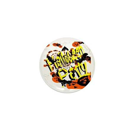 Halloween Party II Mini Button (10 pack)