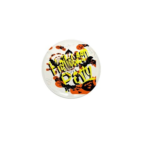 Halloween Party II Mini Button