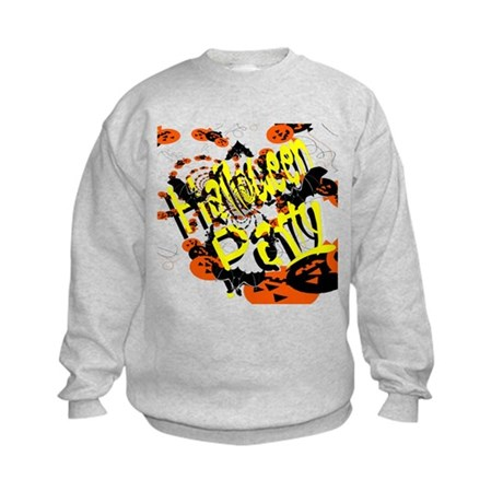 Halloween Party II Kids Sweatshirt