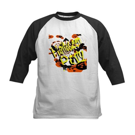 Halloween Party II Kids Baseball Jersey