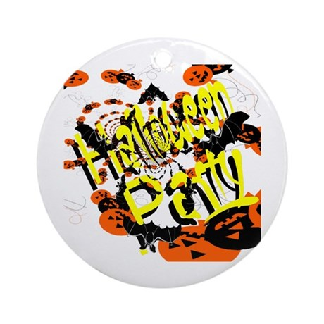 Halloween Party II Ornament (Round)