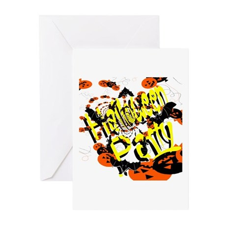 Halloween Party II Greeting Cards (Pk of 10)