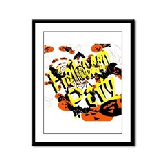 Halloween Party II Framed Panel Print
