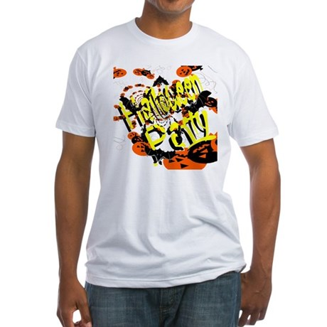 Halloween Party II Fitted T-Shirt