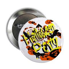 "Halloween Party II 2.25"" Button (100 pack)"
